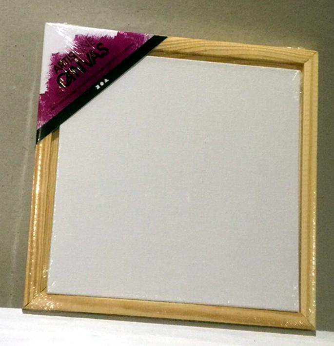 meinmixedmediashop - Malpappe mit Schattenrahmen 20x20 cm